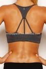 nylon/spandex dry fit womens gym wear, sport wear, fitness wear ladies sexy yoga bra
