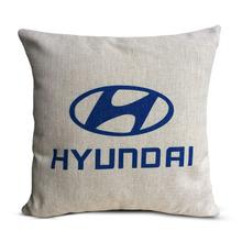 custom brand logo printed car cushion