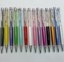 2014 hot sale Beautiful colorful crystal hand touch pen