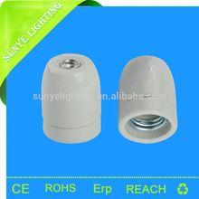 CE, VDE,SAA, RoHS, E27 Light Socket ,Bulb holder,ceramic table lamps for bedroom