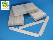 beauty waxing disposable white birch wooden spatula