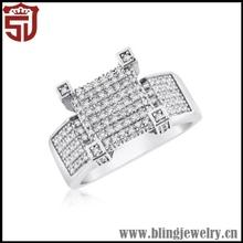 Attractive Grace Beautiful Stylish Female Diamond Ring