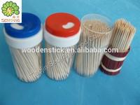 decorat wholesale birch wood toothpicks
