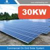 Easy installation 30kw solar grid tie system include sunpower solar panel