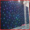 HOT WLK-1 RGB Black fireproof Velvet cloth RGB 3 in 1 led curtain backdrops leds starled decorative lights curtain