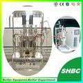 Fermentación de acero inoxidable, tanque de fermentación, fermentadora, biorreactor, laboratorio de bio fermentadora fermentador, de laboratorio inoxidable- reactor de acero