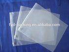 Design branded pvc transparent clutch bags