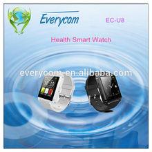 EC-U8 fashion smart watch phone sync Iphone/Android phones