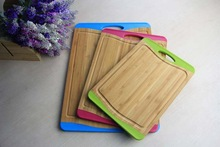 Well designed cheap cutting board plastic with handle in good quality