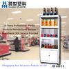 supermarket vegetable and fruit display shelf
