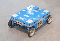 4WD Omni wheel mobile robot platform