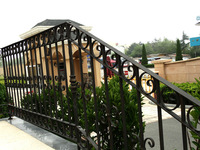 Yihua wrought iron handrails outdoor stairs