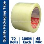 clean adhesive tape bopp film for carton box