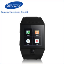 $39 Cheap MTK6577 Dual Core Sim Card Android bluetooth smart watch phone with 512MB 4G Memory + 500mAh battery