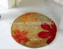 bedroom dish chair floor microfiber mats/carpet