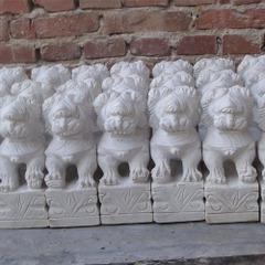 Palace design decorative rock stone elephant carvings