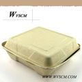 descartáveis biodegradáveis embalagens de polpa moldada