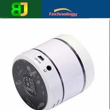 Wireless Micro SD Support Bluetooth Speaker S09 Potable Mini Light Flash Bluetooth Speaker Cylinder Shape