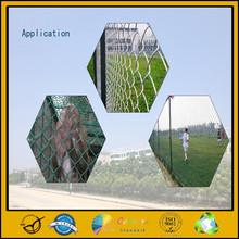 guangzhou breeding chain link fence wholesale price,PVC chain link fence,playground chain link fence