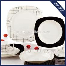 Square Shape super white 20pcs Dinner Set new Design F4001