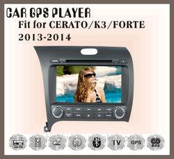 Fit for KIA CERATO/K3/FORTE 2013 2014 multimedia car dvd player dvd + gps