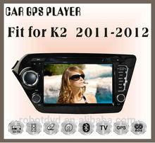 Fit for KIA K2 2011 2012 multimedia car dvd player dvd + gps
