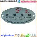 De metal de encargo electrónico etiqueta de precio, de metal deimpresión electrónica etiqueta de precio de plataforma electrónica de la etiqueta