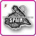 خريطة جميلة إسبانيا سحر معدنية صغيرة رخيصة (186545)