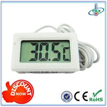 Mini Digital Lcd Temperature Instruments Thermometer Pet Keeping/Fish Tank/Incubator/Cigar Box