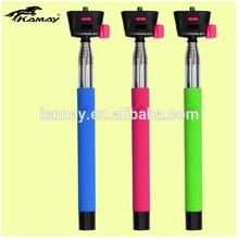 Durable metal shaft colorful legoo wireless monopod for motorola moto g