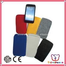 GSV ICTI Factory cheap wholesale handmade felt phone covers