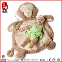 Plush Toy Wholesale Baby Mat Stuffed Monkey Mat