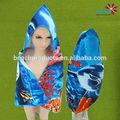 2014 novos produtos tecido de poliéster crianças descartáveis robes
