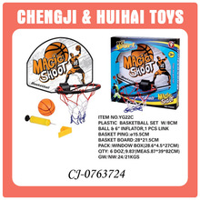 good quality funny plastic mini basketball hoop for kids