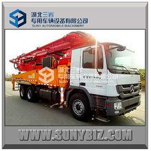Vendita diretta in fabbrica, alta qualità a basso prezzo! Mercedes benz 47 m boom pompa camion per la vendita