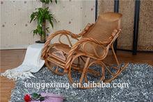 fashional balcony wicker rattan rocking chair