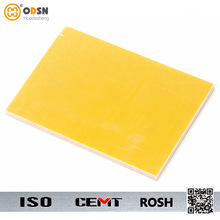 High density yellow fiberglass insulation