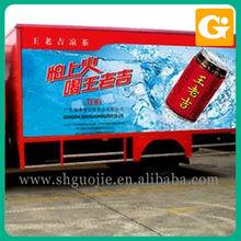 Vehicle Sticker Of Advertisement On Truck