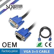 SIPU 3+5 vga male to female cable