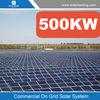 Large scale 500kw solar generator system for home include panel solar also with on grid inverter