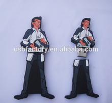 Cartoon Character Memory Keys 8gb, Custom made man shape Cartoon Character-shaped USB,Custom sticks memory usb flash pens drive