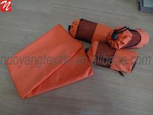 orange ployester bag portable wholesale gym Microfiber sport towel