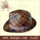wholesale stylish fedora paper hat