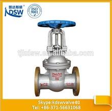 worm gear dn100 wcb gate valve