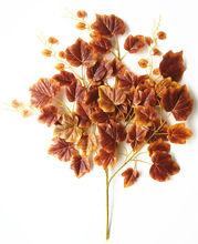 2014 hot sell wholesale decorative grape leaf