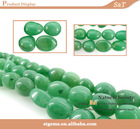gemstone supplier fancy shape beads green aventurine magnetite stone