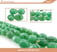 gemstone supplier fancy shape beads green aventurine magnetite stone