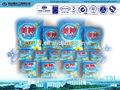 los ingredientes principales para el detergente en polvo de lavado