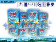 Main Ingredients for detergent washing powder