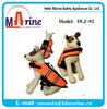 orange pet life jacket